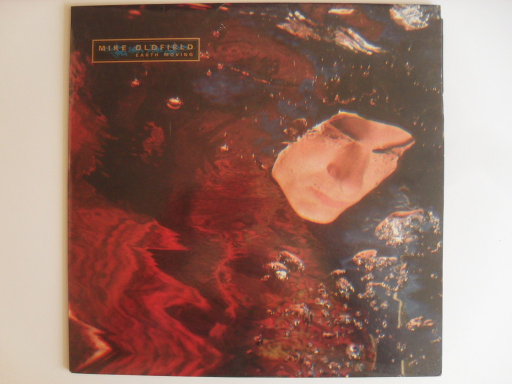 Mike Oldfield Earth moving LP