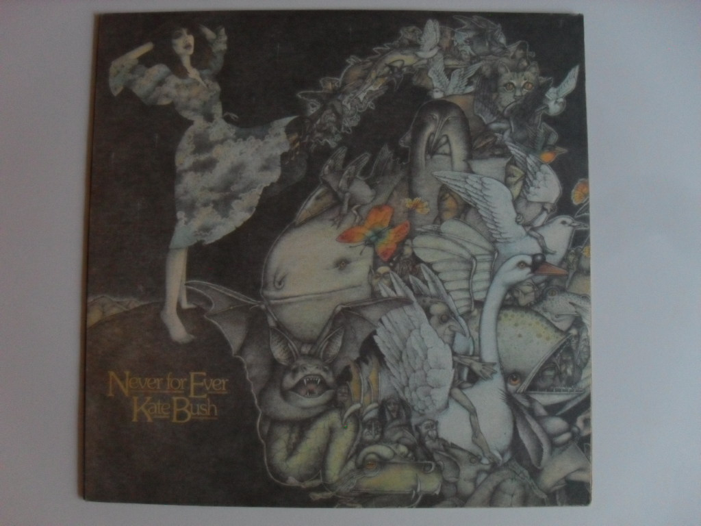 Kate Bush Never for Ever LP