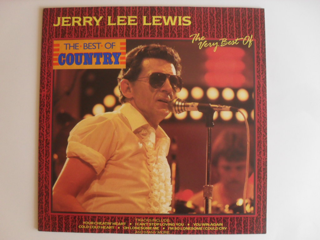 Jerry Lee Lewis The Very Best Of LP