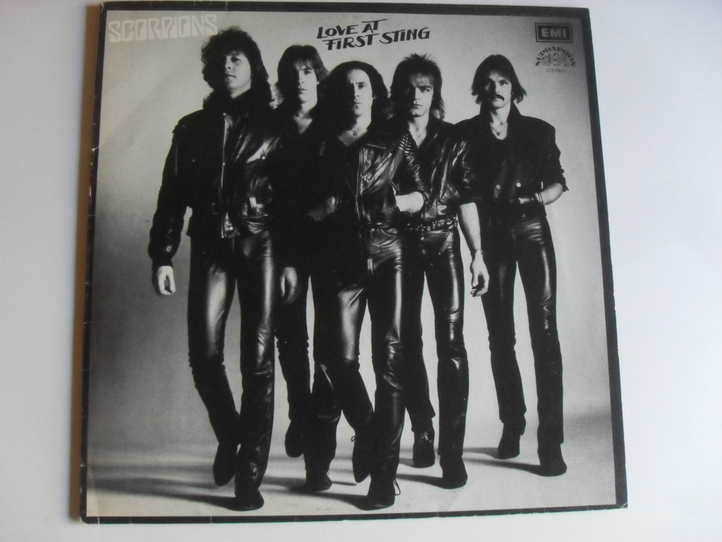 Scorpions Love At First Sting LP