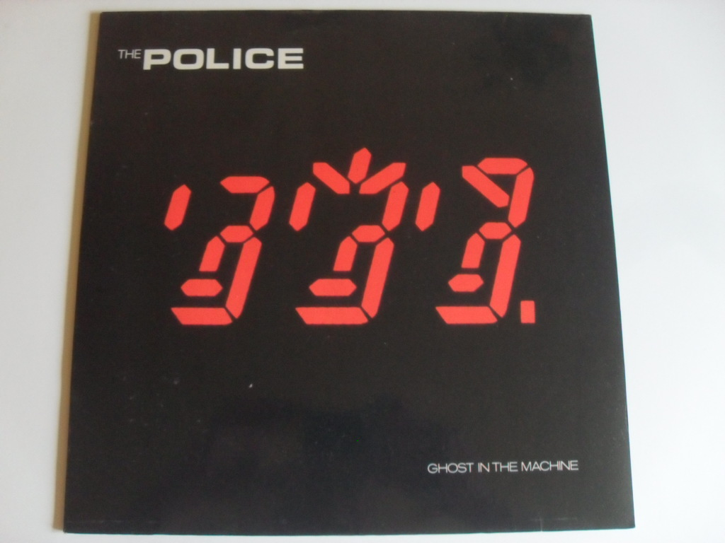 The Police Ghost In The Machine LP