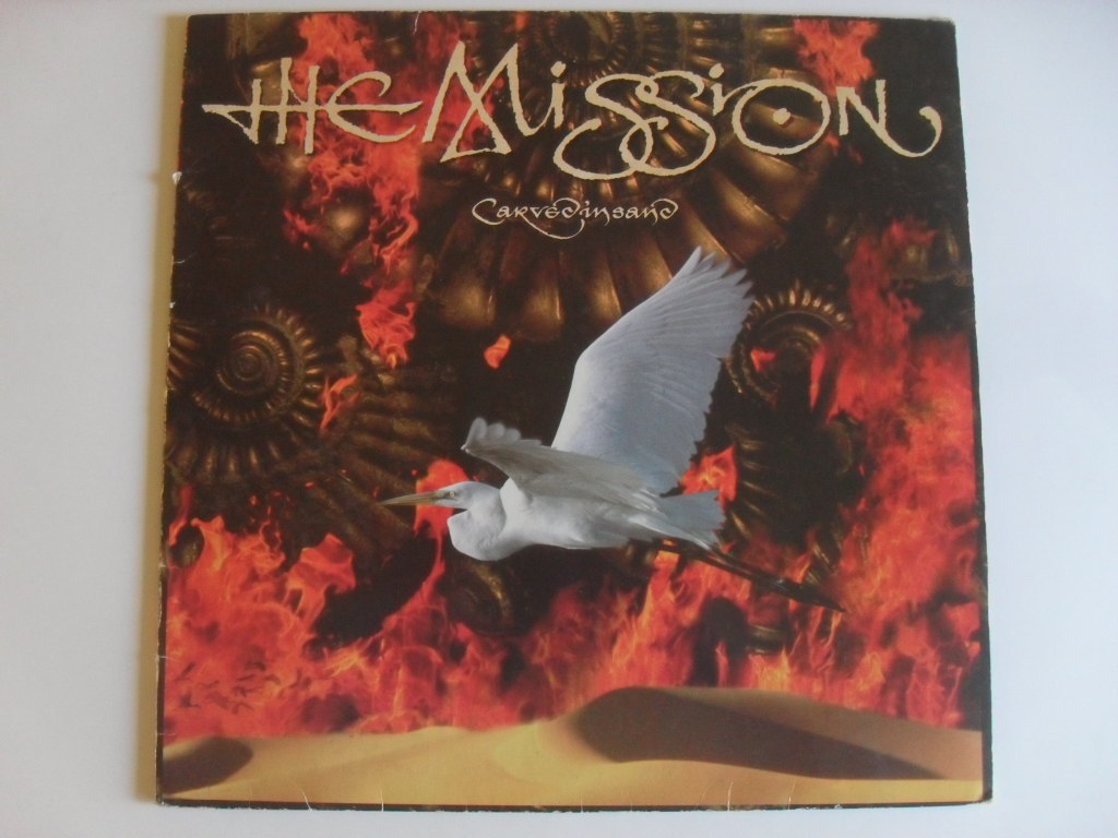 The Mission ‎Carved In Sand LP