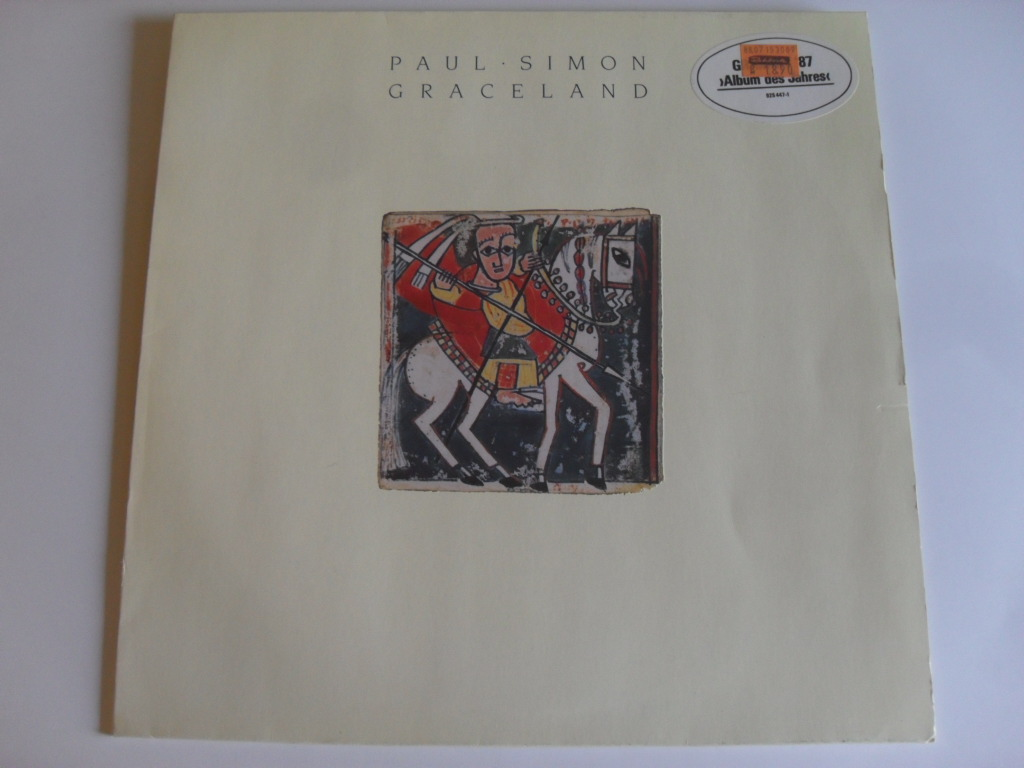 Paul Simon Graceland LP