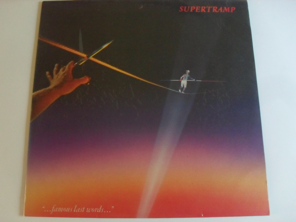 Supertramp Famous last words LP