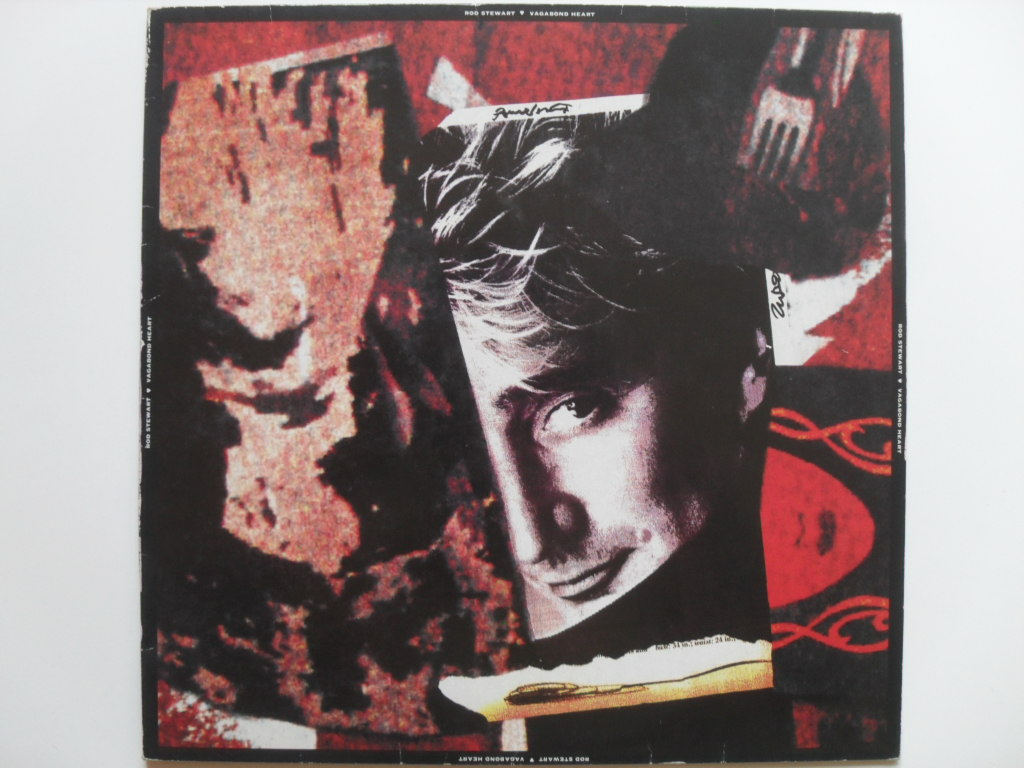 Rod Stewart Vagabond heart LP