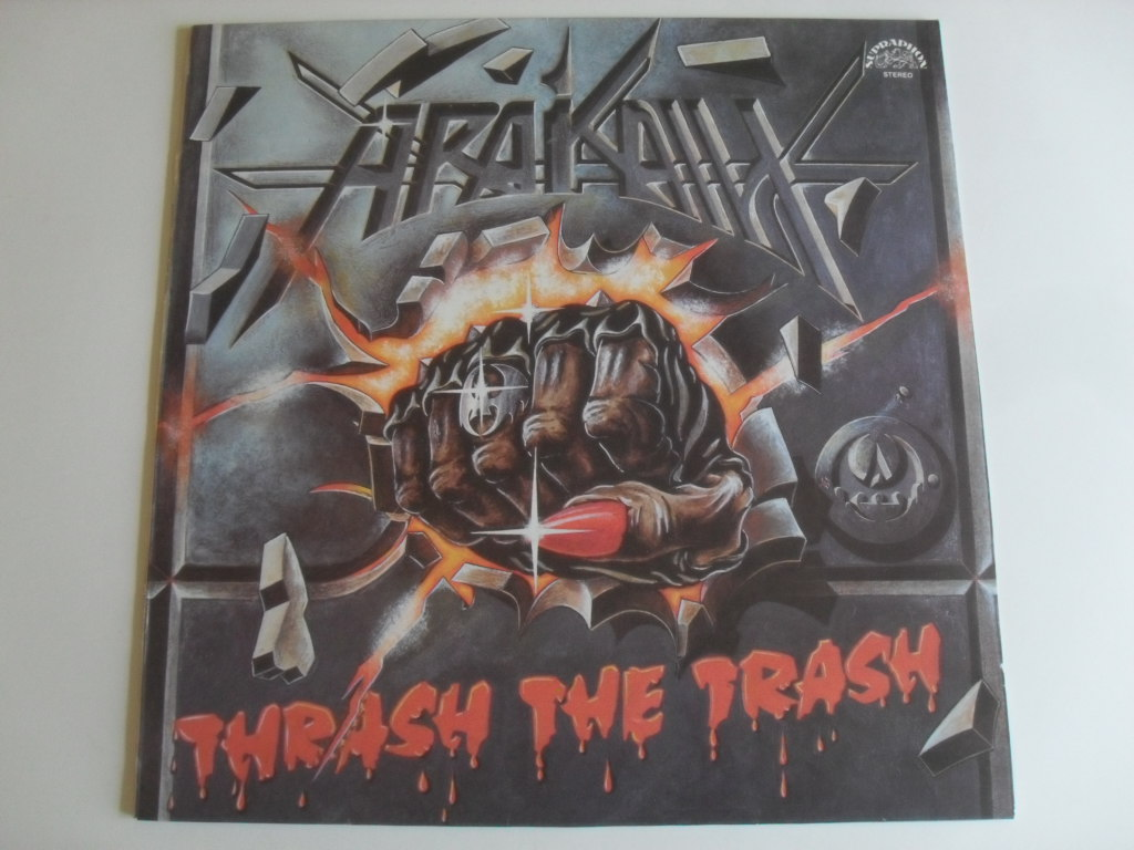 Arakain Thrash  the Trash LP