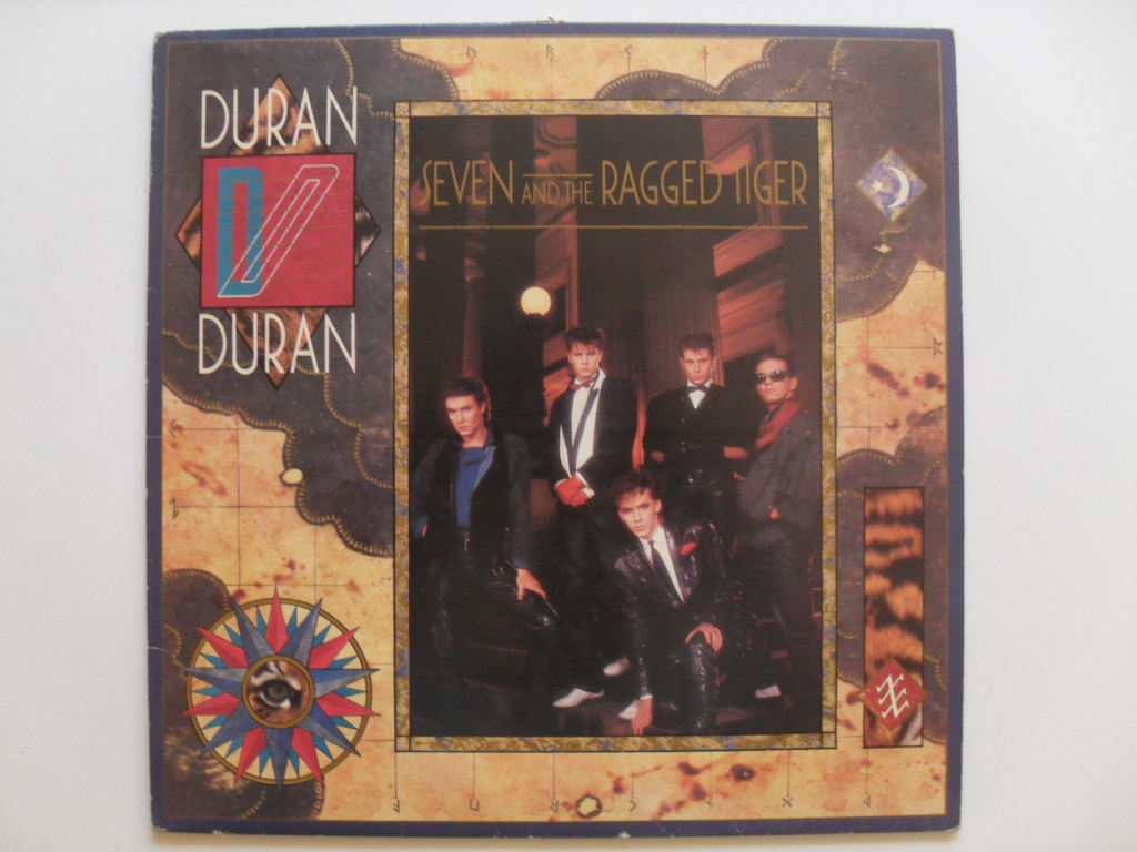 Duran Duran Seven and ragged tiger LP