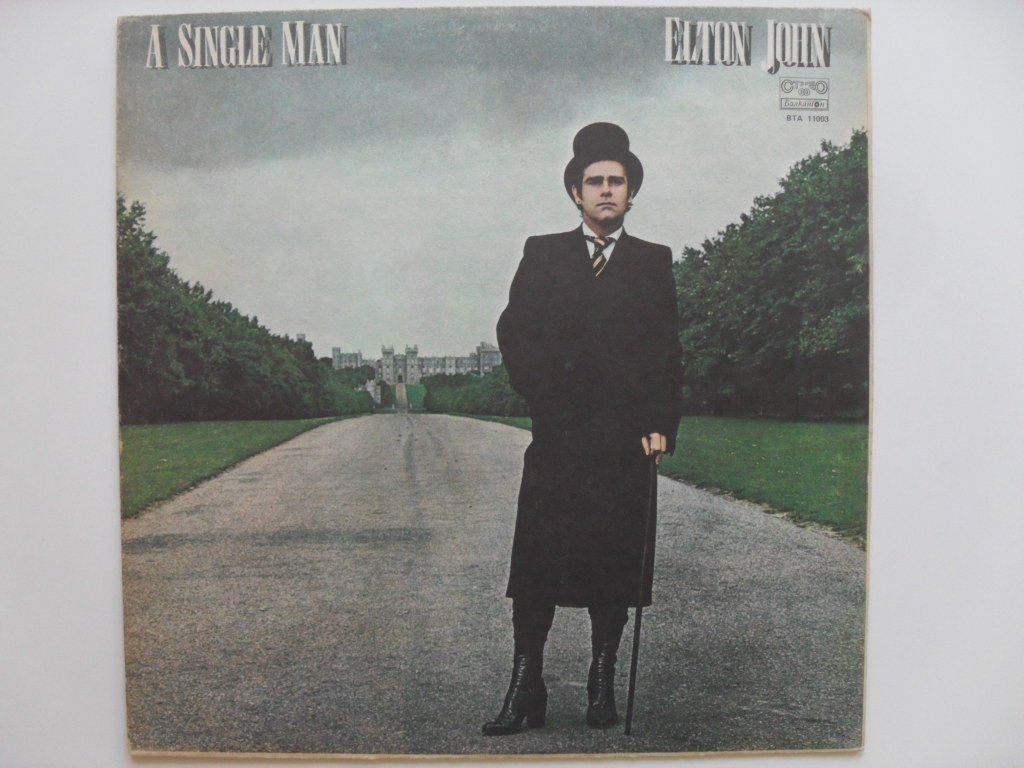 Elton John A Single Man LP