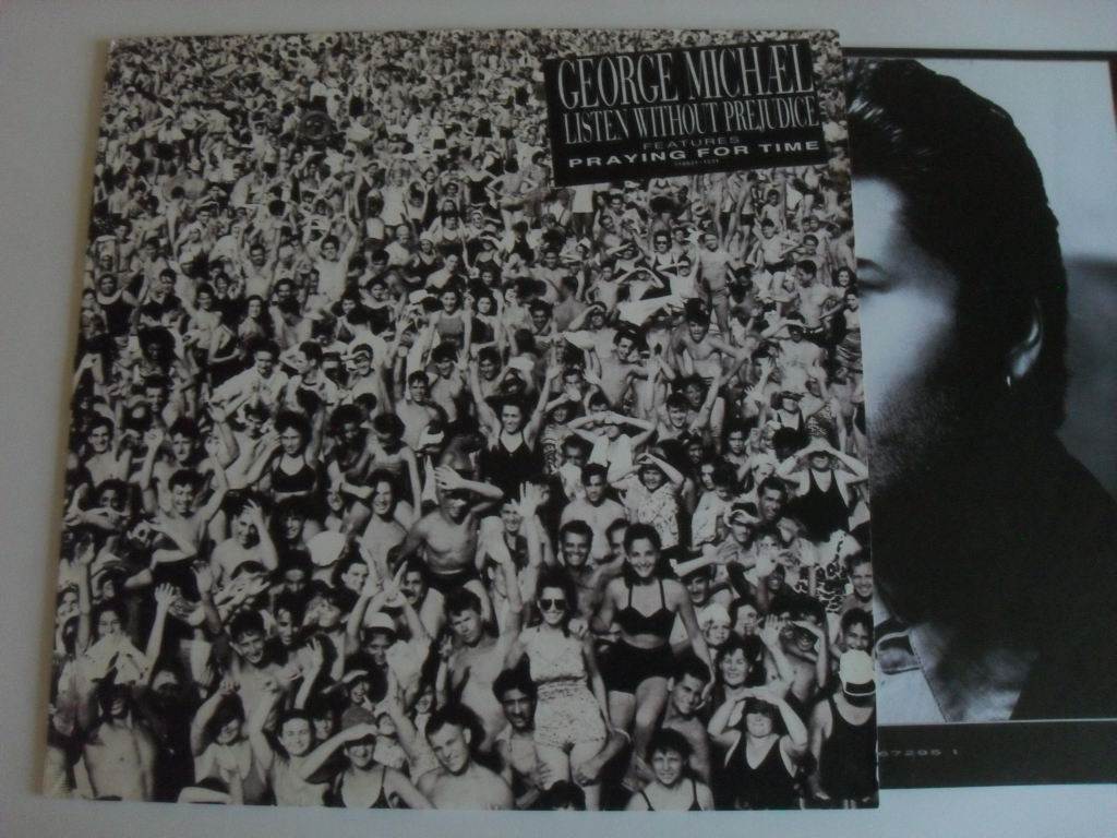 George Michael Listen Without Prejudice LP