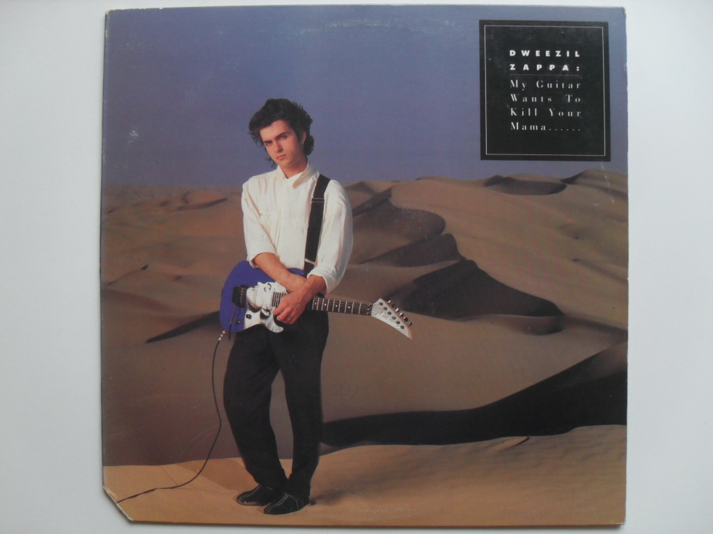 Dweezil Zappa My Guitar Wants o Kill Your Mama LP