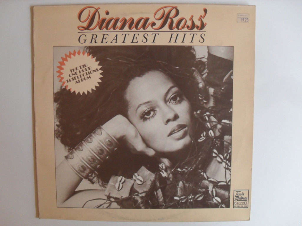 Diana Ross Greatest hits LP