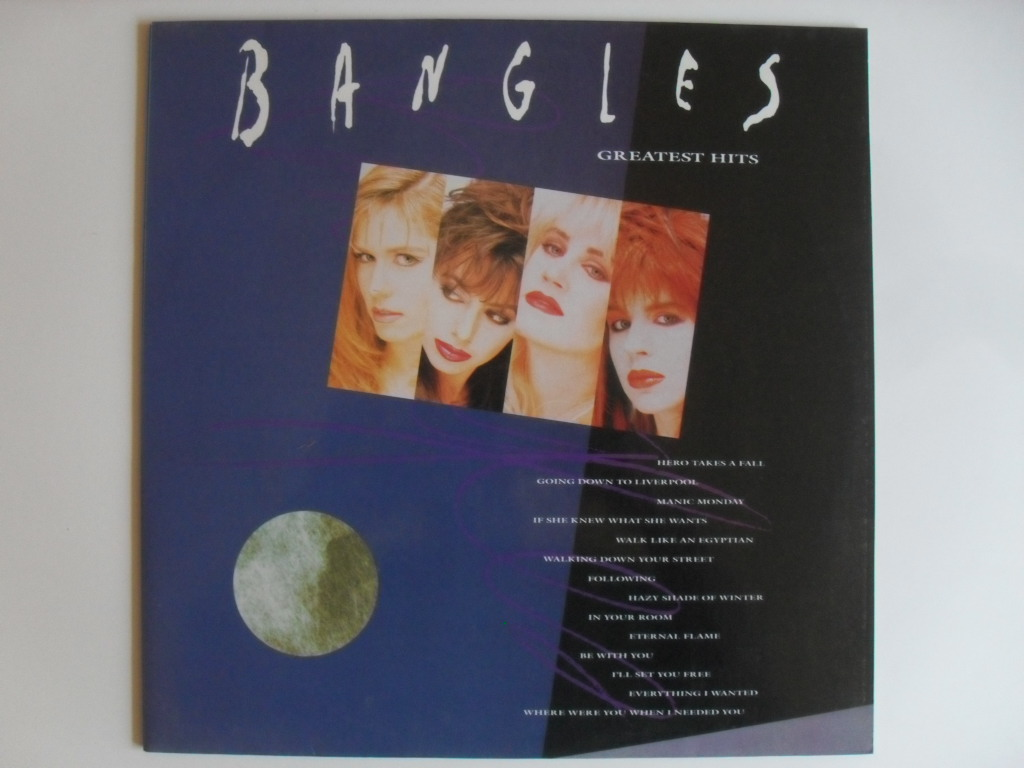 Bangles Greatest hits LP