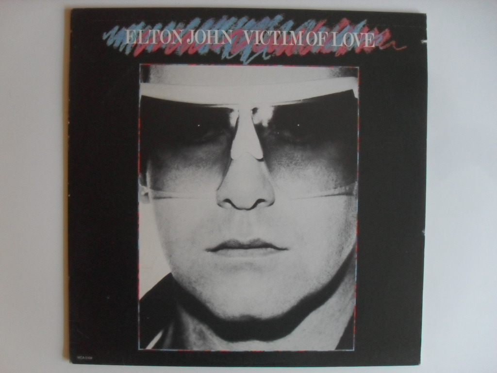 Elton John Victim of Love LP