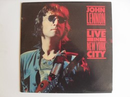 John Lennon Live in New York City LP