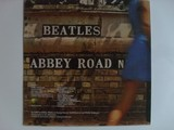 The Beatles Abbey Road LP zadní strana