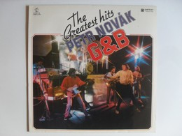 Petr Novák G & B The Greatest Hits LP