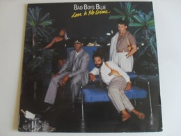 Bad Boys Blue Love is No Crime LP