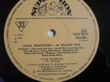 Louis Armstrong 20 Golden Hits LP vinyl