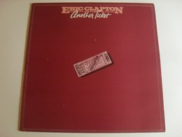 Eric Clapton Another Ticket LP