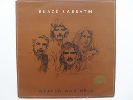 Black Sabbath Heaven and hell LP