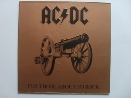 AC / DC For those about to rock LP
