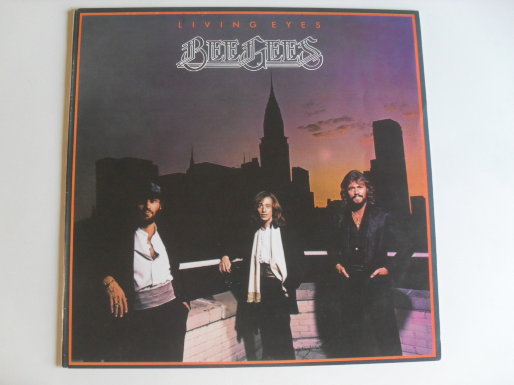 Bee Gees Living eyes LP