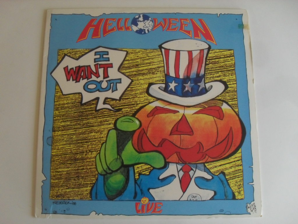 Helloween I Want Out LP