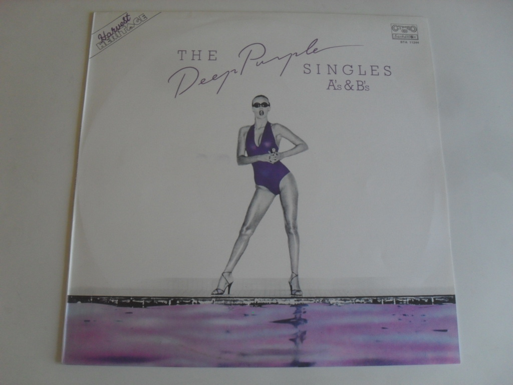Deep Purple Singles A's & B's LP