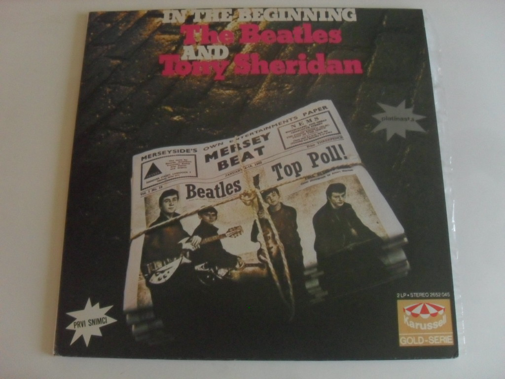 The Beatles And Tony Sheridan - In The Beginning LP
