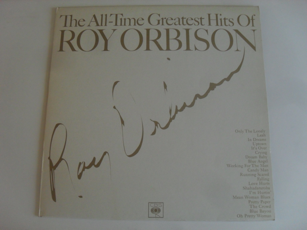Roy Orbison ‎- The All -Time Greatest Hits Of LP