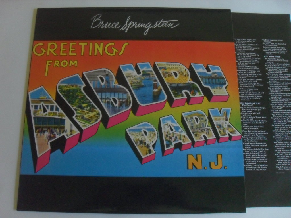 Bruce Springsteen - Greetings from Asbury LP
