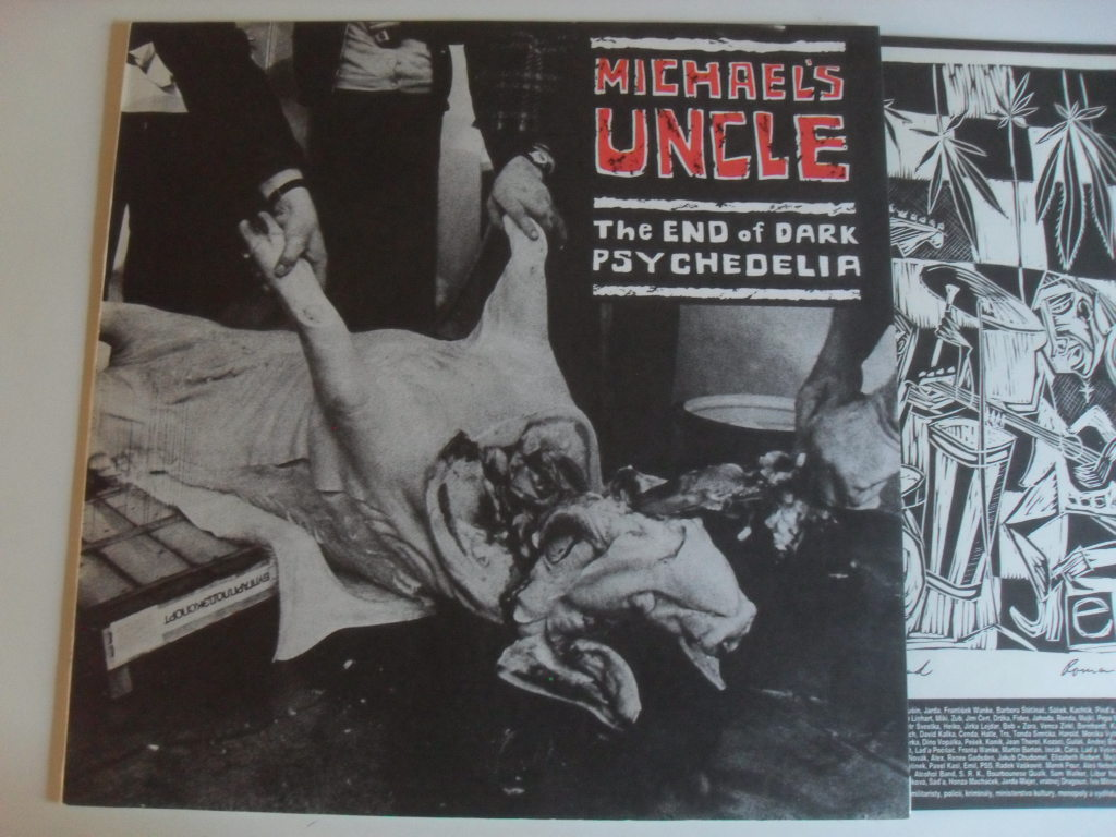 Michael's Uncle ‎The End Of Dark Psychedelia LP