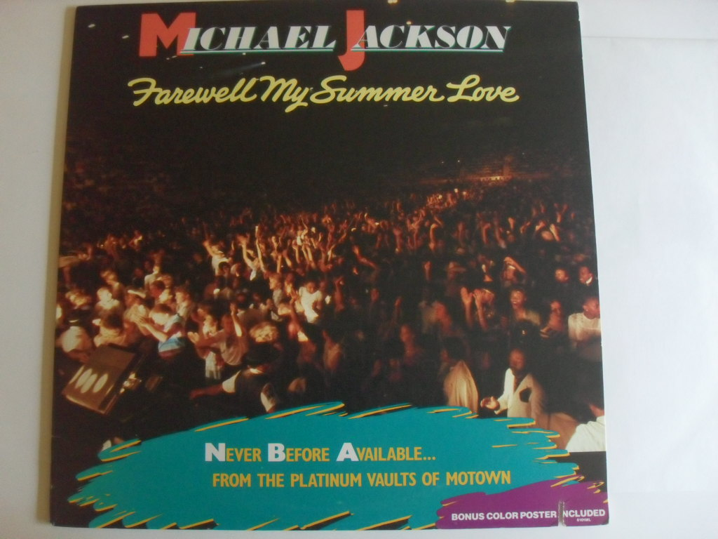 Michael Jackson Farewell My Summer Love LP