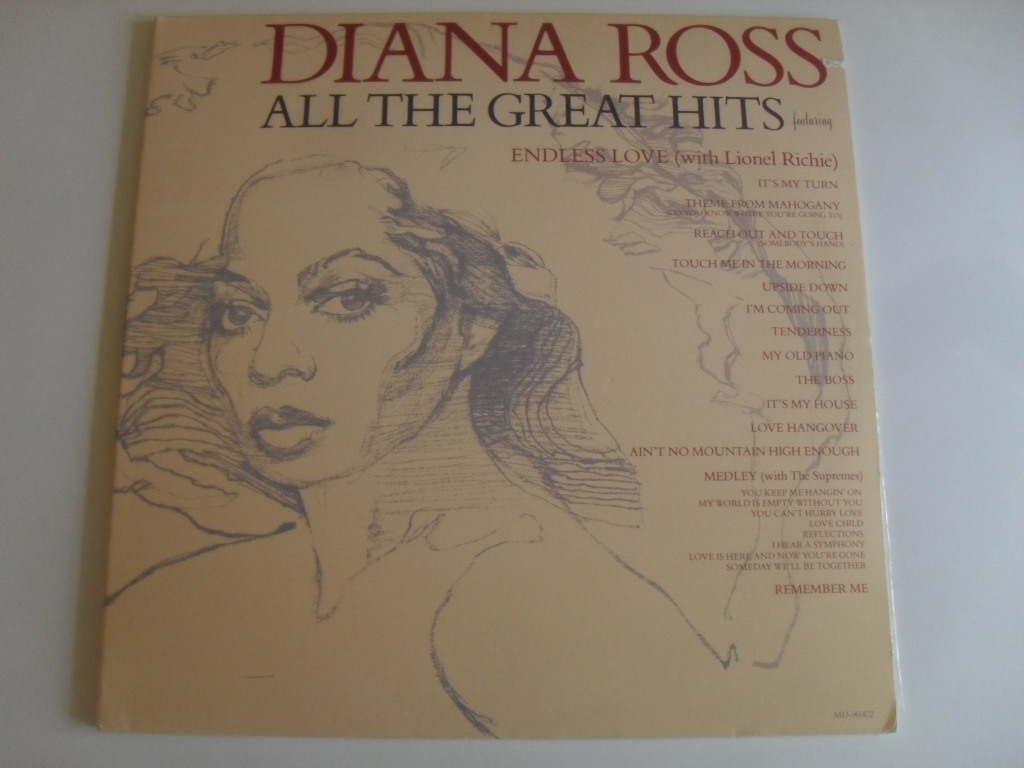 Diana Ross All The Great Hits 2 LP