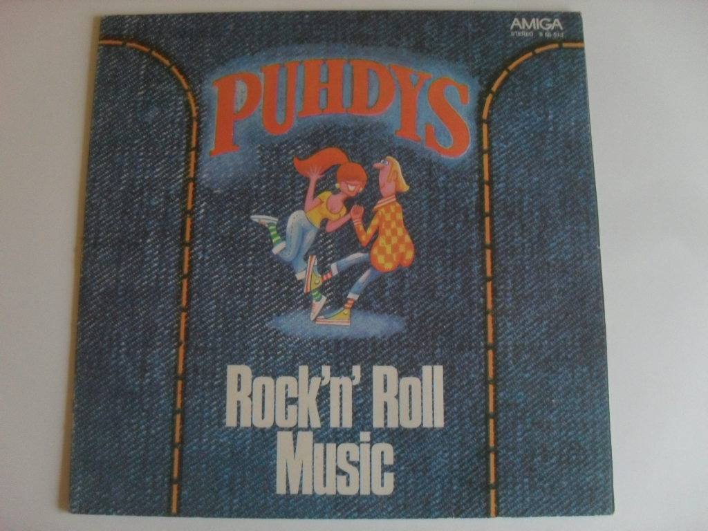 Puhdys Rock´n´Roll Music LP