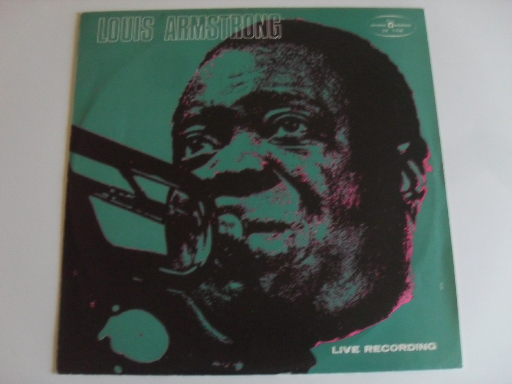 Louis Armstrong Live LP
