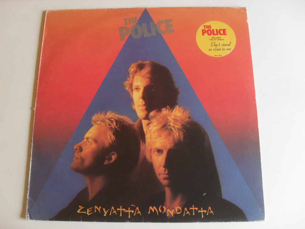 The Police Zenyatta Mondatta LP Holland