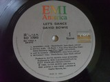David Bowie - Let´s Dance LP vinyl