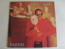Stevie Wonder Characters LP