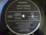 Joe Cocker - Night Calls LP 1991 vinyl