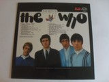 The Who - The Best LP zadní strana