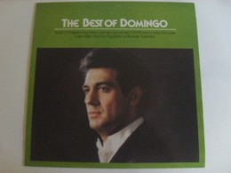 Placido Domingo - The Best of Domingo LP