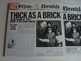 Jethro Tull Thick As A Brick LP 2015