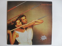 Roxy Music Flesh + Blood LP