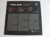 The Police Ghost In The Machine LP zadní strana